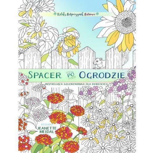 Spacer po ogrodzie - kolorowanka dla każdego (9788365553577)