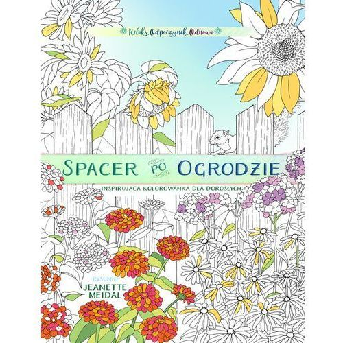 Spacer po ogrodzie - kolorowanka dla każdego marki Szaron