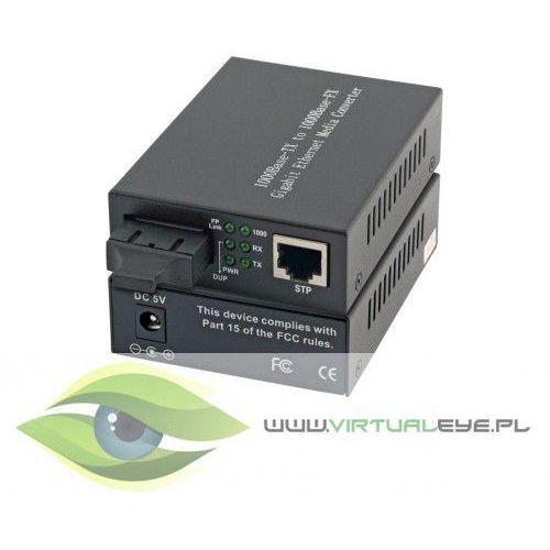 Intellinet media konwerter 1000base-t rj45/1000base-lx (sm sc) 10km 1310nm (0766623507158)