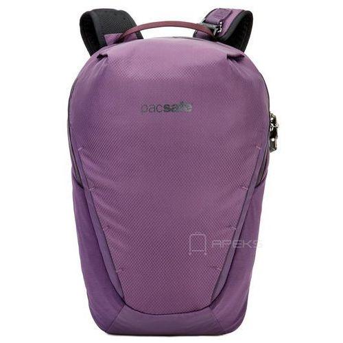 """venturesafe x18 plecak antykradzieżowy na laptopa 13"""" / fioletowy - plum marki Pacsafe"""