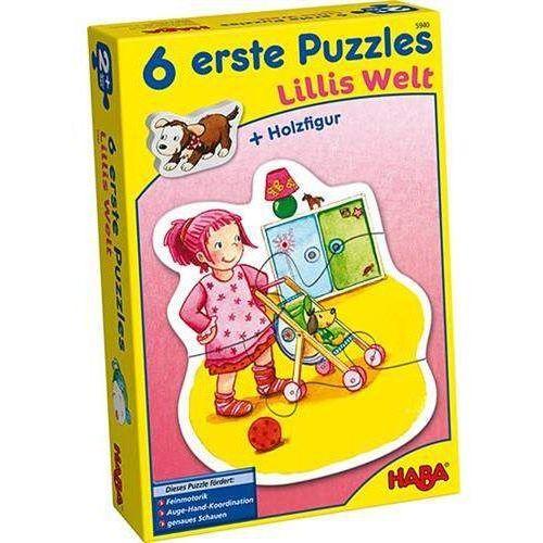 Haba Pierwsze puzzle - świat lilli
