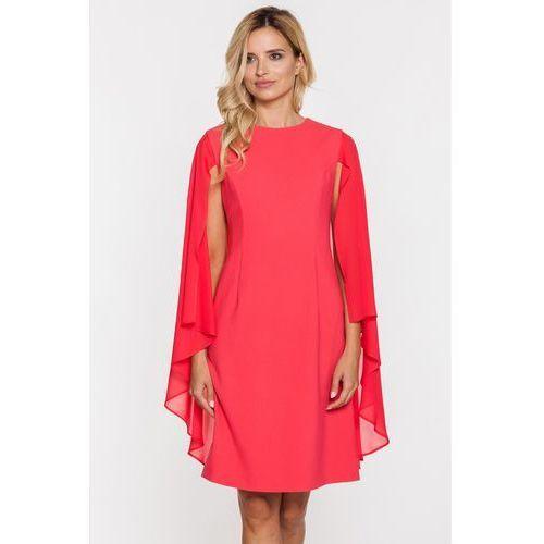 Czerwona sukienka z peleryną - Metafora, kolor czerwony
