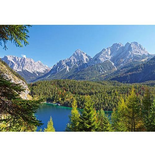 Puzzle CASTOR Jezioro w Alpach. Austri 3000 Elementów
