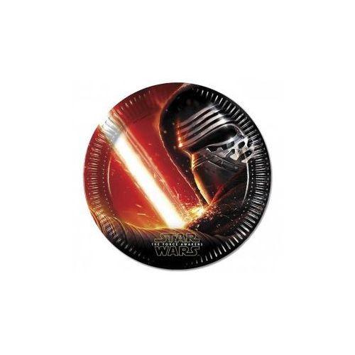 Talerzyki papierowe Star Wars The Force Awaknes 23 cm, 8 szt.