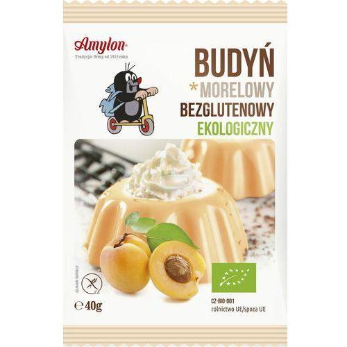 Amylon Budyń morelowy (bezglutenowy) bio 6x40g- (8594006667685)