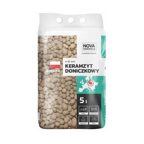 Nova minerals Keramzyt ogrodniczy 4 - 10 mm 5 l (5903754488580)