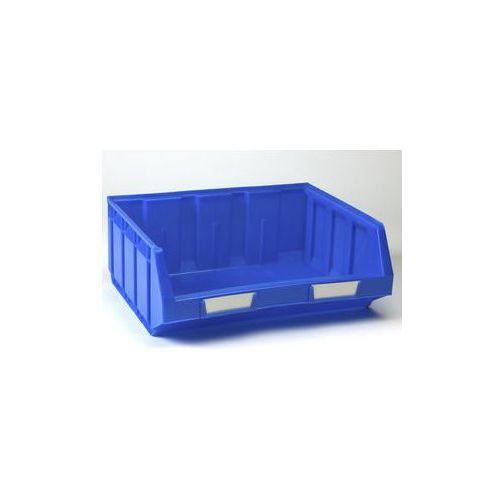 Otwarty pojemnik magazynowy z polietylenu,dł. x szer. x wys. 345 x 410 x 164 mm marki Vipa