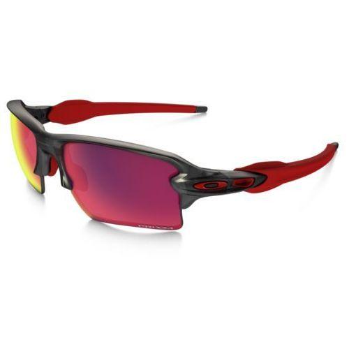prizm road flak 2.0 xl okulary rowerowe mężczyźni szary okulary marki Oakley