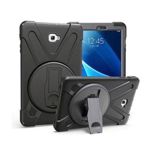 Pancerne etui Alogy Pirate Galaxy Tab A 10.1 T580/T585 + Szkło, kolor czarny