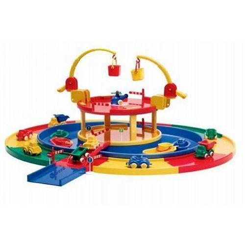 Quercetti Viking toys city garaż z przystanią jednopoziomowy