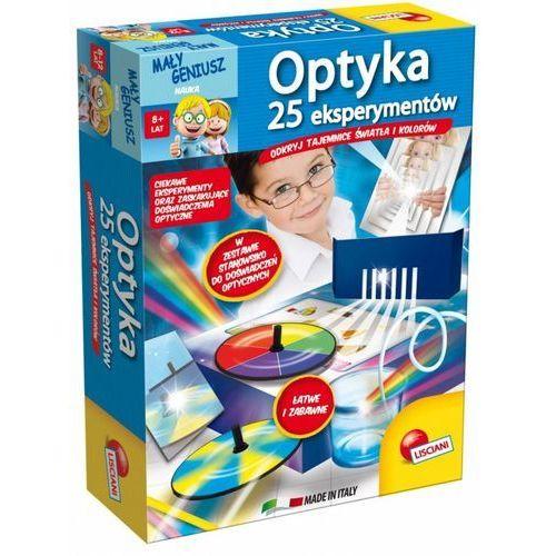 Mały geniusz Optyka 25 eksperymentów