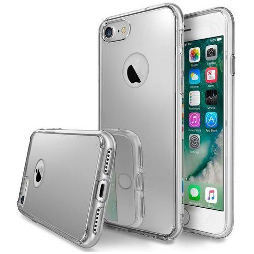 Rearth Etui ringke fusion do apple iphone 7 8 silver - srebrny (8809512153271)