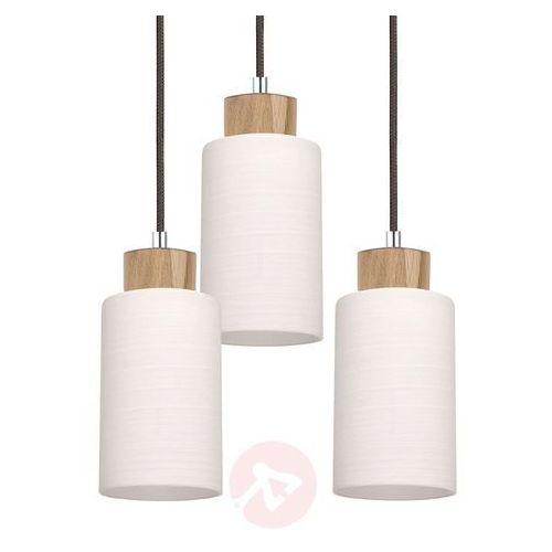 Lampa wisząca SPOTLIGHT Bosco 1711574 Dąb Olejowany-Antracyt + DARMOWY TRANSPORT! (5901602342831)