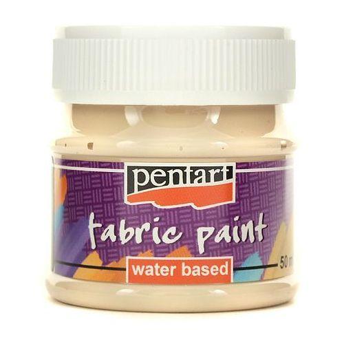Pentart Farba do tkanin 50 ml - beżowy - beżo