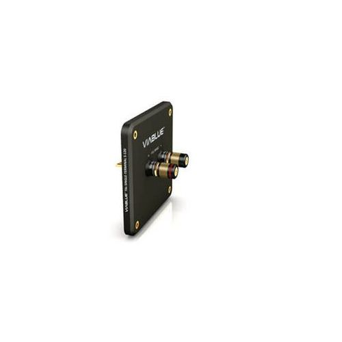 Viablue t6s single-terminal s-120 black with binding post - terminal głośnikowy z gniazdami - black \ single-wire