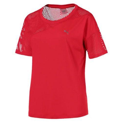 Puma koszulka sportowa a.c.e. mesh blocked tee ribbon red l (4059506736704)