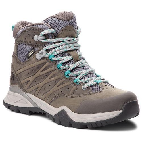 Trekkingi - hedgehog hike ii mid gtx gore-tex t939ia4fz q-silver grey/porcelain green1 marki The north face