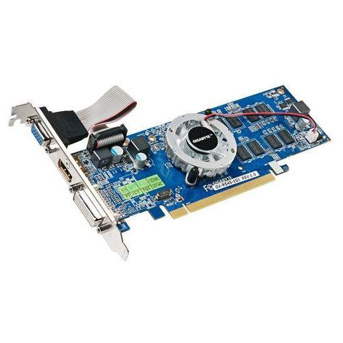 Karta graficzna Gigabyte Radeon HD5450 1GB DDR3 PX 64BIT DV/HD/DS BOX (GV-R545-1GI) Darmowy odbiór w 15 miastach! - produkt z kategorii- Karty graficzne