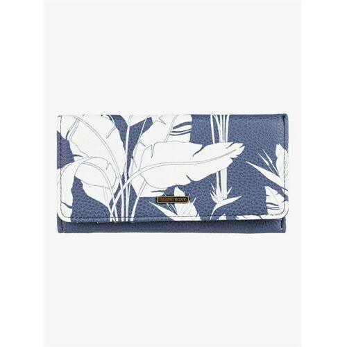 portfel ROXY - Hazy Daze Mood Indigo Flying Flowers S (BSP6) rozmiar: OS
