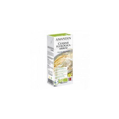 Sos roślinny z ryżu (śmietanka) BIO 200 ml Amandin