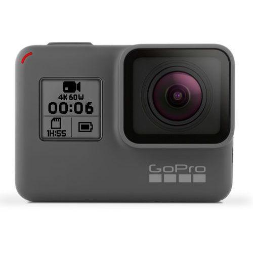 Kamera sportowa hero6 black + zamów z dostawą w poniedziałek! + extra rabat! zyskaj do 20% rabatu! + darmowy transport! marki Gopro