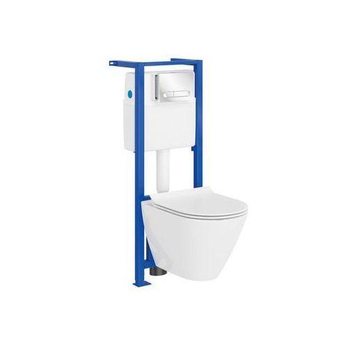 OKAZJA - Cersanit Zestaw podtynkowy wc capri