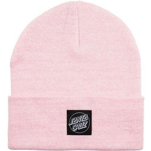 czapka zimowa SANTA CRUZ - Outline Label Beanie Pink Marl (PINK MARL) rozmiar: OS, kolor różowy