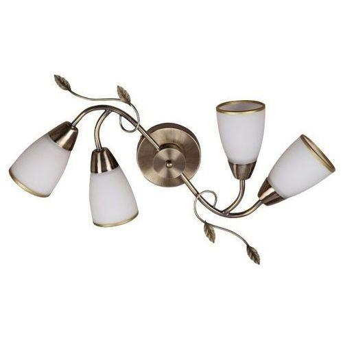 Plafon lampa sufitowa Rabalux Dreambells 4x40W E14 brązowy / biały 6145