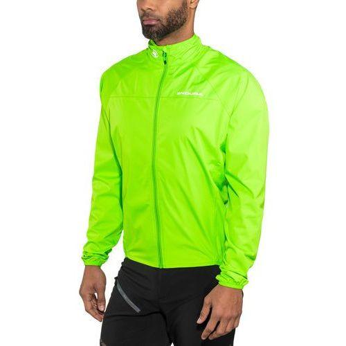 Endura xtract ii kurtka mężczyźni, neon green m 2019 kurtki przeciwwiatrowe (5055939941684)