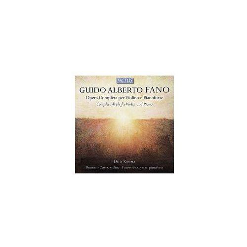 Guido Alberto Fano: Opera Completa Per Violino, TC 870602