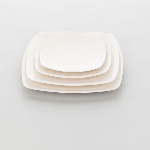 Stalgast Talerz porcelanowy kwadratowy liguria