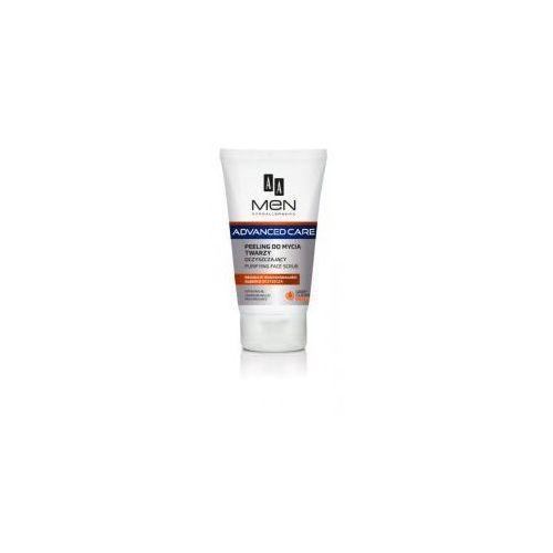 Aa cosmetics Aa men advanced care, peeling do mycia twarzy oczyszczający, 150ml