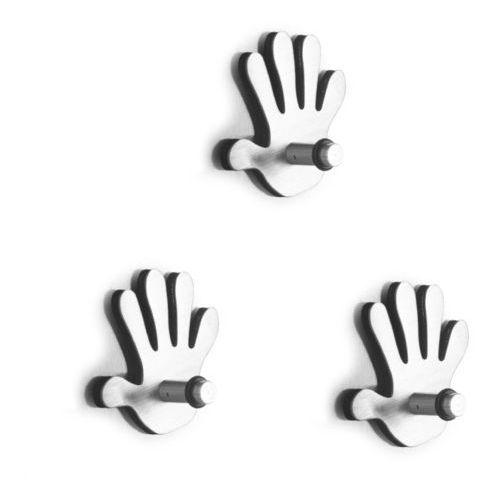Zestaw haczyków magnetycznych ring - 3 sztuki w komplecie, marki Zeller