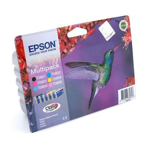 Multipack t0807 - 6 tuszy do drukarek epson (oryginalny) marki Epson