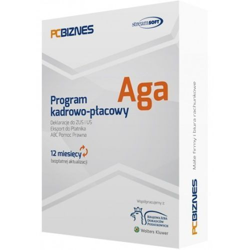 Streamsoft aga sieciowa bez ograniczenia ilości pracowników dla biur rachunkowych do 20 firm