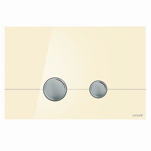 CERSANIT przycisk Stero szkło ecru K97-369, K97-369