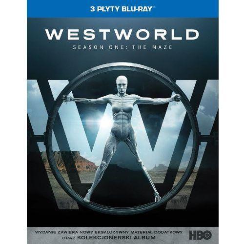 WESTWORLD, SEZON 1 (3BD) DIGIPACK (Płyta BluRay) (7321999347567)