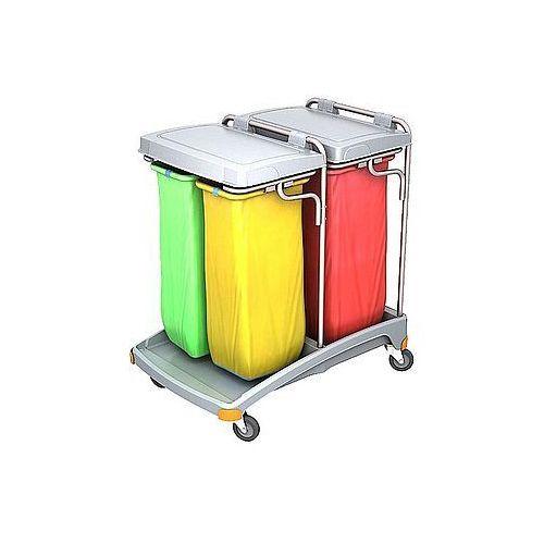 Wózek na odpady z tworzywa sztucznego tso-0022 marki Splast