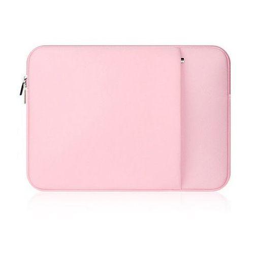 Pokrowiec  neopren apple macbook 12 różowy - różowy marki Tech-protect
