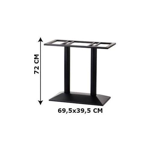 Podstawa stolika podwójna sh-4001-2/b, (stelaż stolika), kolor czarny marki Stema - sh