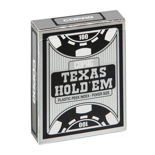 Talia Texas Hold'em plastic peek index - czarna (5411068640551)