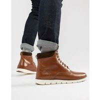 Kg by kurt geiger gregory hybrid sole leather cuff boots - tan, Kg kurt geiger