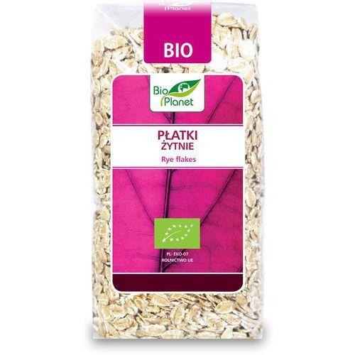 Bio planet : płatki żytnie bio - 300 g