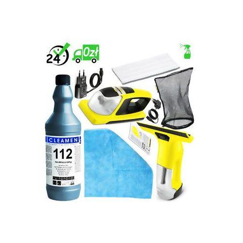 Karcher Wv 6 + kv 4 (300m2, 100min) myjka do okien z padem wibrującym detergent xl+ ✔do 31.05 serwis premium za 1zł! ✔sklep specjalistyczny ✔karta 0zł ✔pobranie 0zł ✔zwrot 30dni ✔raty 0% ✔gwarancja d2d ✔leasing ✔wejdź i kup najtaniej