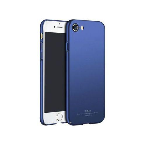 Msvii Etui simple ultracienkie iphone 8 niebieskie