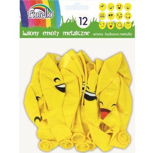 Balony Emoty Party metaliczne FIORELLO (5903364264574)