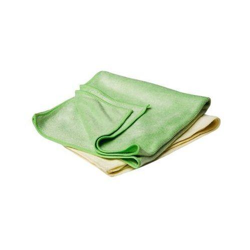 Flexipads ręcznik polerski 2szt. - zielony i żółty - uniwersalne ręczniki z mikrofibry