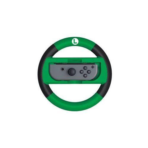 Kierownica joy-con wheel deluxe (luigi) pro nintendo switch (nsp1162) zielona marki Hori