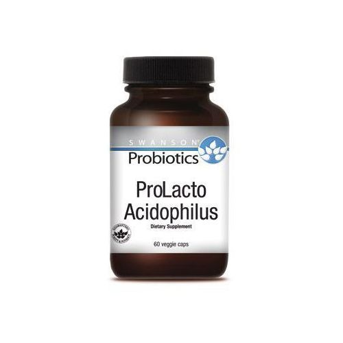 Swanson Probiotyk ProLacto Acidophilus 60kaps veggie - suplement diety