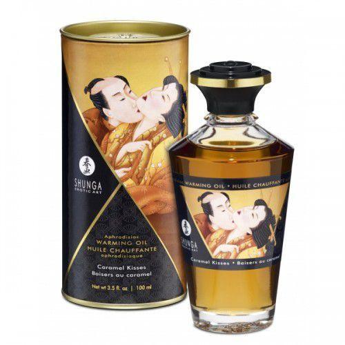 Shunga Aphrodisiac Oil Caramel Kisses olejek do masażu 100 ml, 8408301